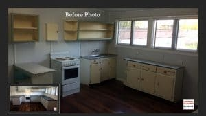 Budget Kitchen – Northside Brisbane Before